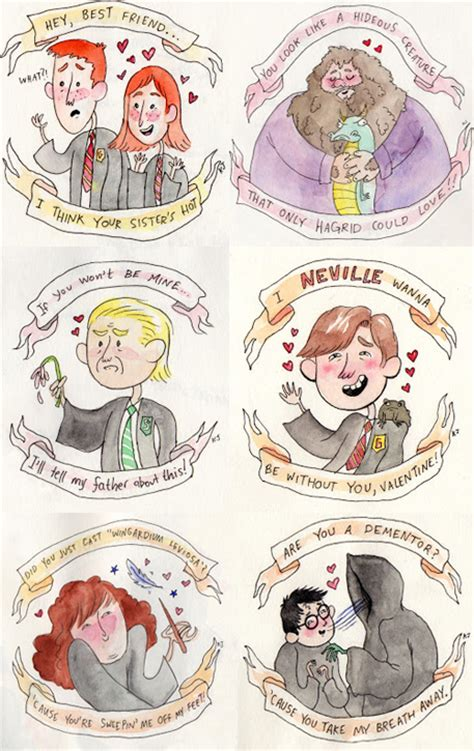 harry potter valentines meme day cards never looked more awesome digital