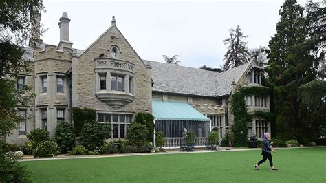 hugh hefner house inside millionaire hugh hefner s 200 million playboy mansion