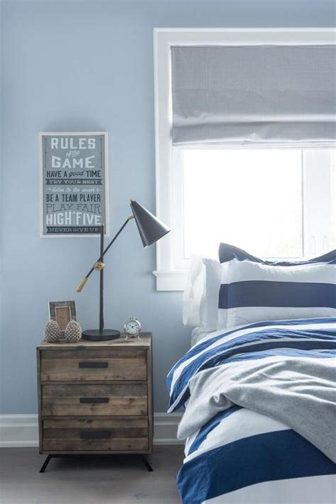 boys blue and red bedroom blue and gray boy bedroom with bed under window