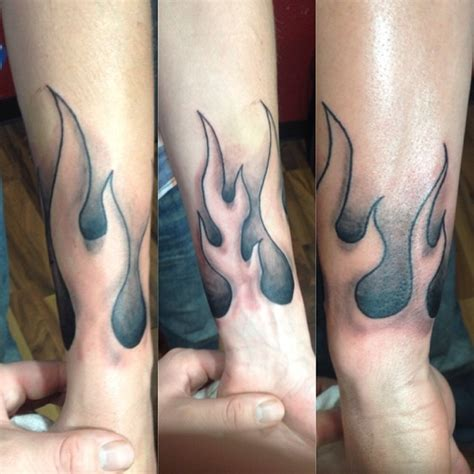 tattoo flames wrist 58 tattoos
