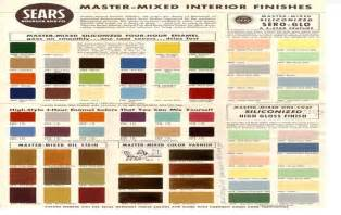 sears paint chart pictures to pin on pinterest pinsdaddy