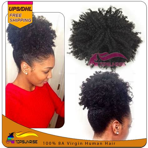 curly pony tail human hair advertised on qvc wholesale afro kinky curly ponytail human hair 100 virgin