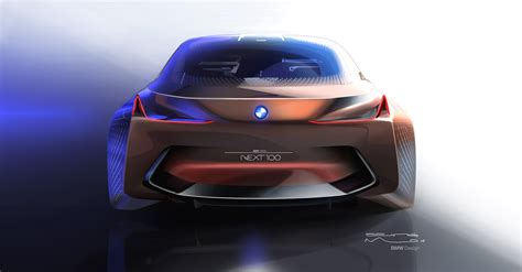next vision new photos of the beautiful bmw vision next 100