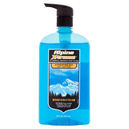 alpine xtreme mountain stream body wash, 28 oz walmart.com