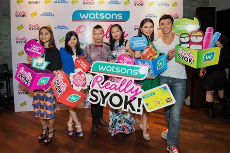watson malaysia new year semasa get jiggy and get really syok with watsons