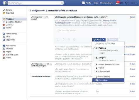 publicaciones de mis amigos fannyjemwongs blog facebook gu 237 a de privacidad panda security
