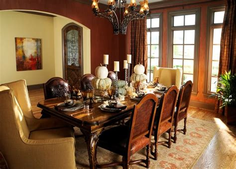 Homes Decorators by An English Country Style Home Traditional Dining Room