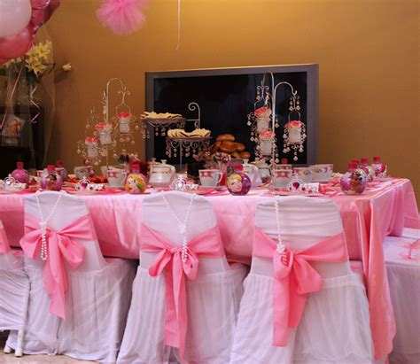Tea party ideas for girls the girls did dress up and