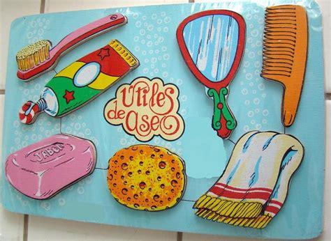imagenes de utiles escolares de foami puzzle de higiene bucal rompecabezas de