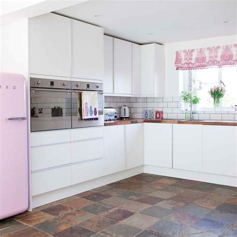 Pink Tiles Kitchen by Mottled Effect Kitchen Floor Tiles Kitchen Flooring