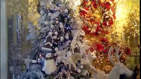 arbol de navidad blanco decorado decoracion navide 241 a 2017