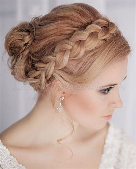 Geflochtene Haare Hochzeit by Braided Wedding Hairstyles Crown Braid Wedding Hairstyle
