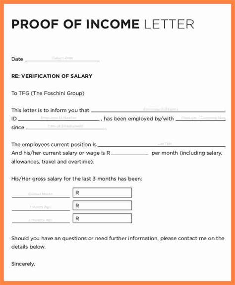 Proof Of Compensation Letter 11 Sle Salary Confirmation Letter From Employer Salary Slip