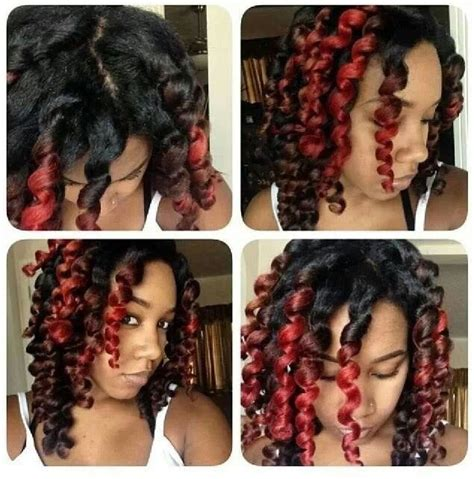 flexi rod hairstyles relaxed hair 1000 images about flexi rods on pinterest spiral curls