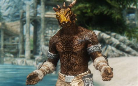 argonian and khajiit digitgrade with sos body texture at skyrim featured modlist 2016