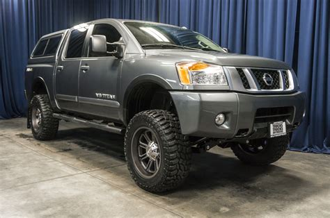 nissan 4x4 lifted used lifted 2014 nissan titan pro 4x 4x4 truck for sale