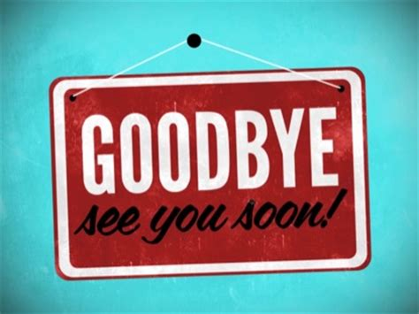 goodbye sign | centerline new media | worshiphouse media