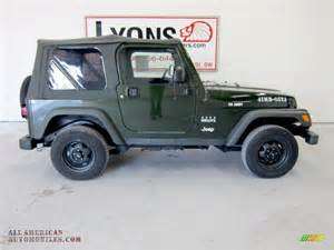 2005 Jeep Willys Edition For Sale 2005 Jeep Wrangler Willys Edition 4x4 In Moss Green
