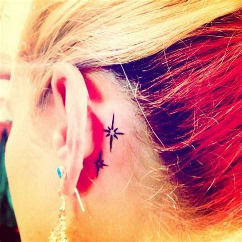 umbrella tattoo behind ear 70 pretty behind the ear tattoos ears ear tattoos and stars