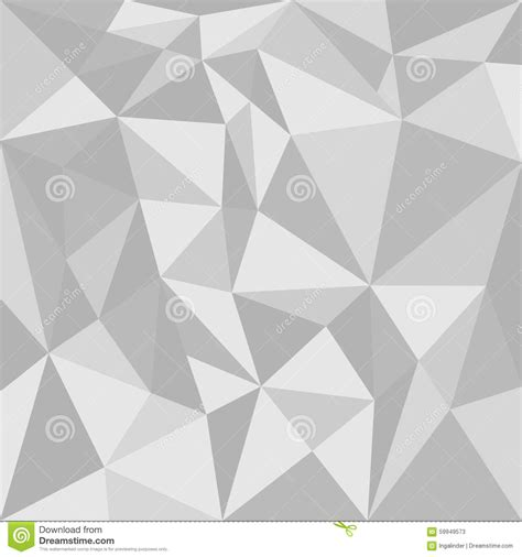 geometric patterns card template grey triangle vector background stock vector