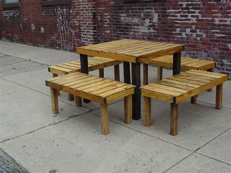 Pallet Outdoor Furniture Practical Yet Chic Ideas Wooden Outdoor Patio Furniture