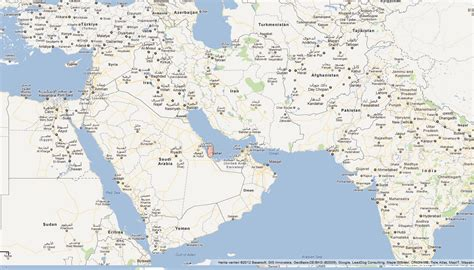 middle east map doha qatar map