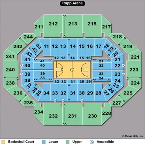 seating chart rupp arena kentucky basketball tickets 2014 2015 wildcats schedule