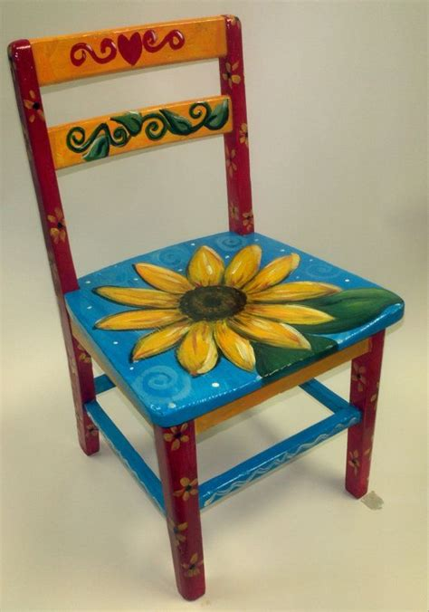 best 20 hand painted stools ideas on pinterest chair painting ideas home design