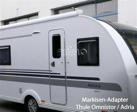 wohnwagen markisen markisen adapter thule omnistor dachmarkisen 2 5 6m an