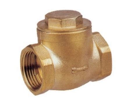 "2"" brass non return valve for waste water. 