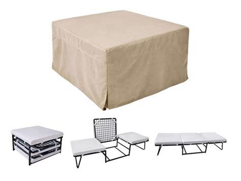 memory foam sleeper futon ottoman