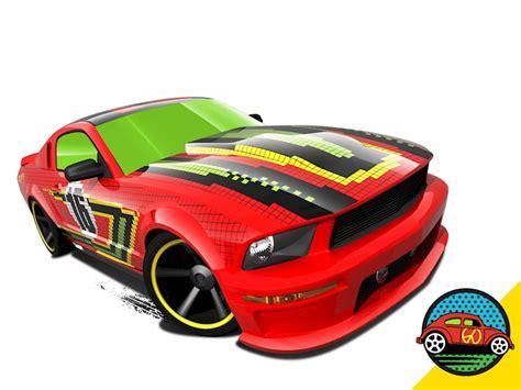 Hotwheels 07 Ford Mustang Merah 07 ford mustang shop wheels cars trucks race tracks wheels
