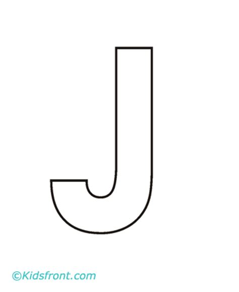 Alphabet J Coloring Pages Printable J Coloring Pages
