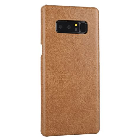 Leather Auto Focus Original Samsung Galaxy Note 8 Softcase Back samsung galaxy note 8 genuine leather matte back cover brown