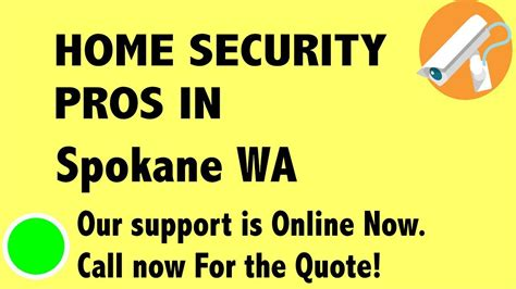 best home security system companies in spokane wa
