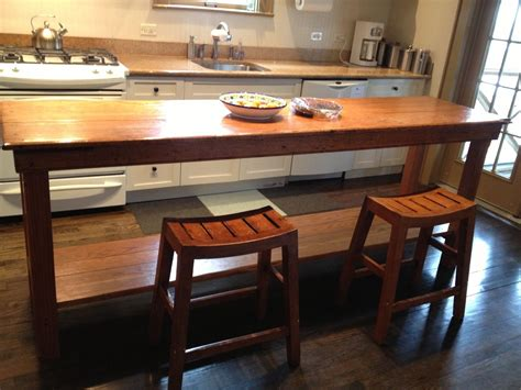 handmade rustic kitchen table  fearons fine woodworking