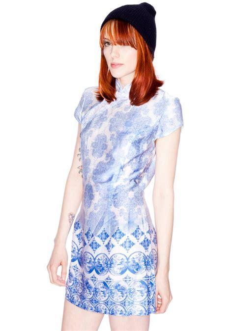 Sum Sum Dress stylestalker shanghai cheong sum dress dolls kill