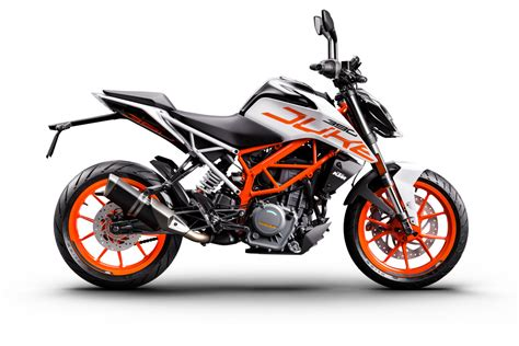 Ktm Duke 390 2017 Ktm Duke 390 Available In White In Limited Numbers