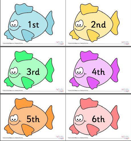 fish ordinal numbers