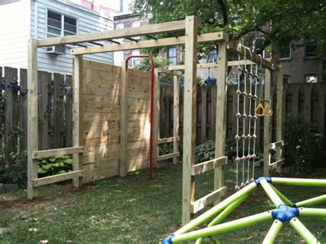 backyard jungle gym plans a small green space growing green in the tiniest spaces