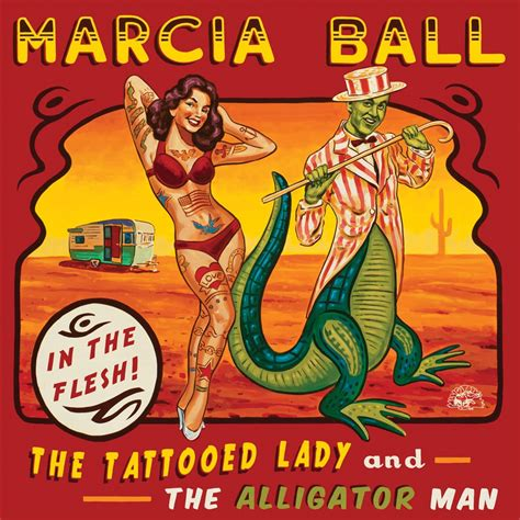the tattooed lady elwood s blues breaker marcia the tattooed and