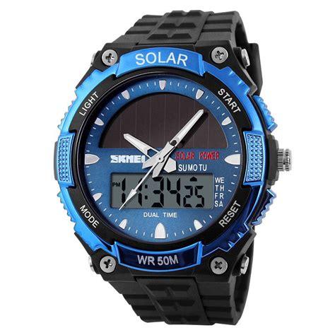 Jam Tangan Murah Jam Tangan Pria Skmei Ad 1081 Promo skmei jam tangan solar digital analog pria ad1049e