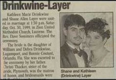 Wedding Announcement Names by 15 Wedding Announcements From Couples With Unfortunate Names