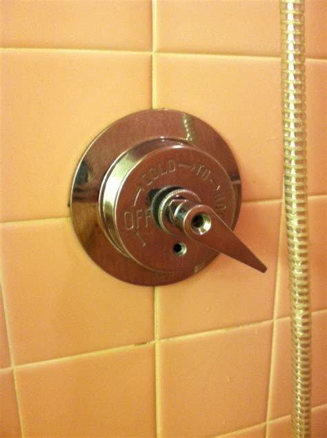 American Standard Shower Handle Removal by 1950s American Standard Single Shower Handle