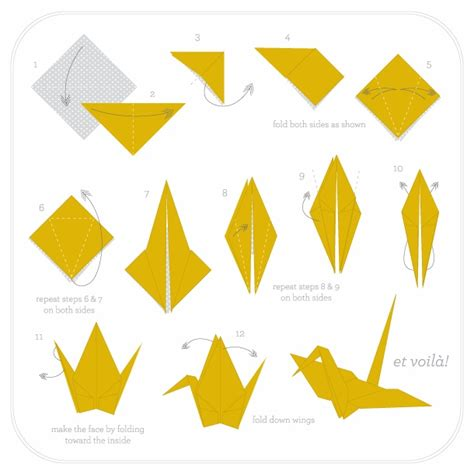 Origami Crane Tutorial - 17 best images about origami on paper plane