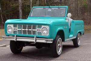 1966 ford bronco roadster barrett jackson auction