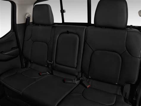 frontier seats image 2017 nissan frontier crew cab 4x4 pro 4x auto rear
