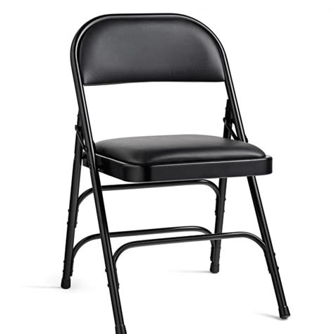 metal folding chairs with padded seats samsonite vinyl padded steel folding chair 49752