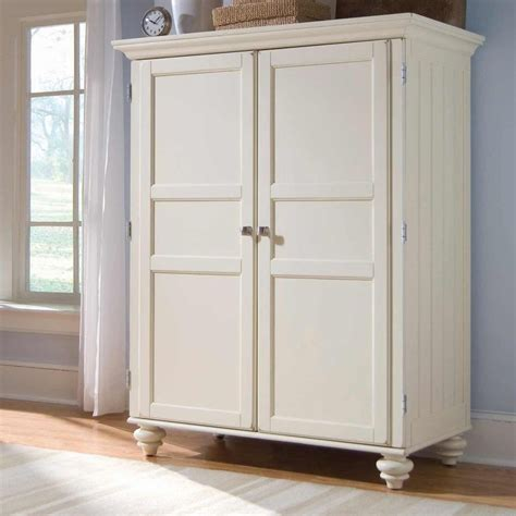 Cheap Wardrobe Armoires by White Armoire Cheap Armoire Desk In White
