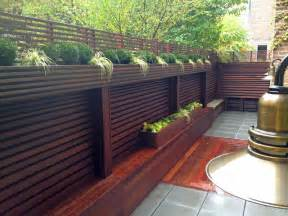 Best Private Dining Rooms In Nyc chelsea nyc terrace wood fence deck patio privacy